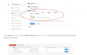 goal details setup in google analytics