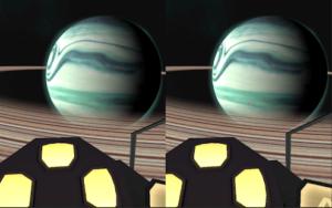 space explorer VR app