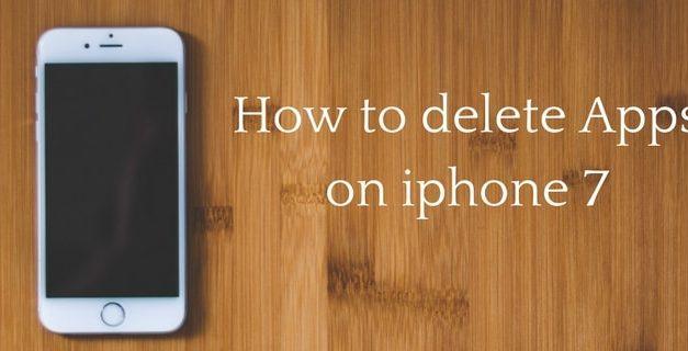 3 ways to delete apps on iphone7/7 plus