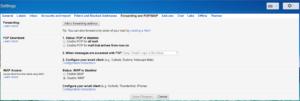 activatingPOP/IMAP in Gmail