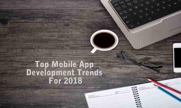 Best Mobile App Development Trends In 2018